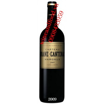 Rượu vang chateau Brane Cantenac Margaux 2009