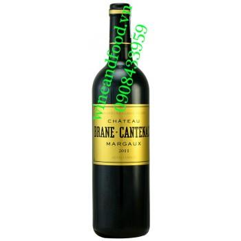 Rượu vang chateau Brane Cantenac Margaux Grand Cru Classe 2011