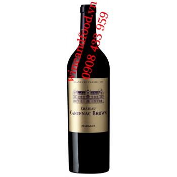 Rượu vang chateau Cantenac Brown 3ème Cru classé 2003