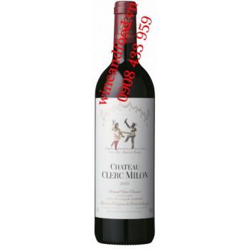 Rượu vang chateau Clerc Milon 5ème Cru Classé 1L5 2001