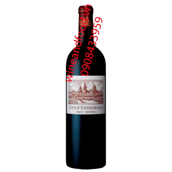 Rượu vang chateau Cos D'estournel 2ème Cru Classe 2001