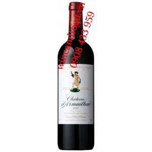 Rượu vang chateau D'armailhac 5ème Cru Classe 5L 2001