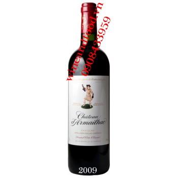 Rượu vang chateau d'Armailhac Grand Cru Classe 2009