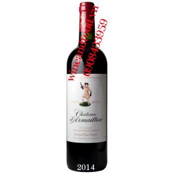 Rượu vang chateau d'Armailhac Grand Cru Classe 2014