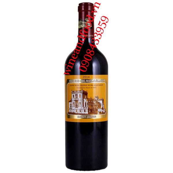 Rượu vang chateau Ducru Beaucaillou 2ème Cru Classé 2009
