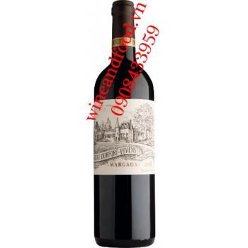 Rượu vang chateau Durfort Vivens Grand Cru Classe 2010