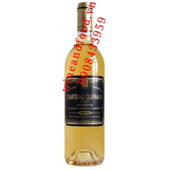 Rượu vang chateau Guiraud Sauternes 1996