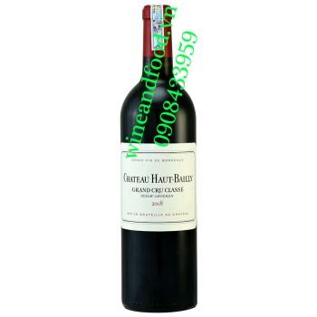 Rượu vang chateau Haut Bailly Grand Cru Classe