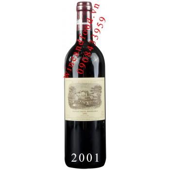 Rượu vang chateau Lafite Rothschild Grand Cru Classe 2001