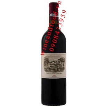 Rượu vang chateau Lafite Rothschild Grand Cru Classe 2006
