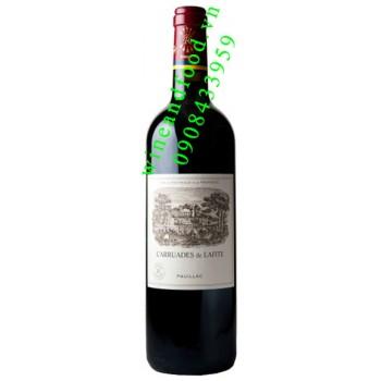 Rượu vang chateau Lafite Rothschild Grand Cru Classe 2007