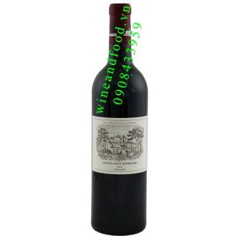 Rượu vang chateau Lafite Rothschild Grand Cru Classe 2013
