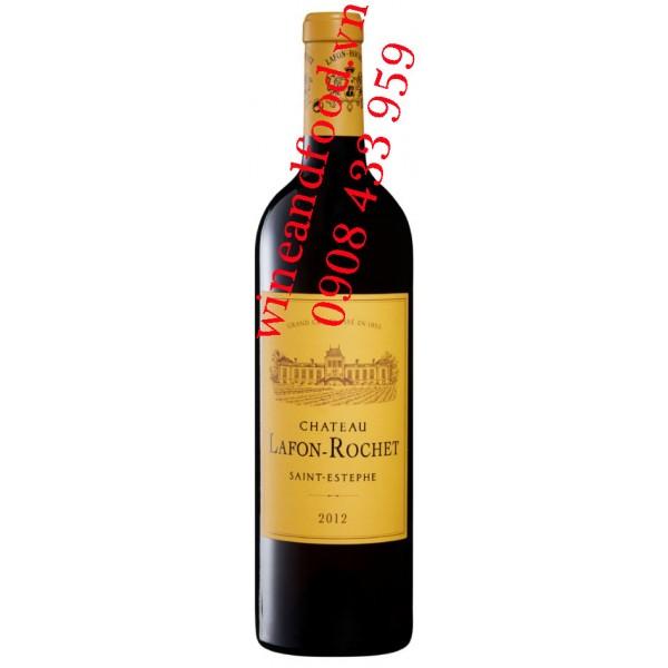 Rượu vang chateau Lafon Rochet 4ème Cru Classé 2006