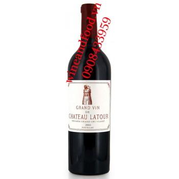 Rượu vang chateau Latour Grand Cru Classe 2003