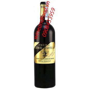 Rượu vang chateau Latour Martillac 2014