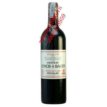 Rượu vang chateau Lynch Bages Grand Cru Classe Pauillac