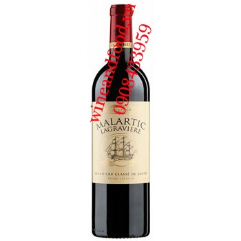 Rượu vang Chateau Malartic Lagraviere 2010