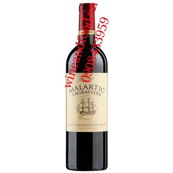 Rượu vang Chateau Malartic Lagraviere 2010
