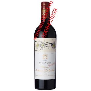 Rượu vang chateau Mouton Rothschild Grand Cru Classe 2005