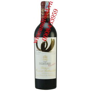 Rượu vang chateau Mouton Rothschild Grand Cru Classe 2007