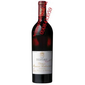 Rượu vang chateau Mouton Rothschild Grand Cru Classe 2009