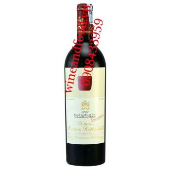 Rượu vang chateau Mouton Rothschild Grand Cru Classe 2013