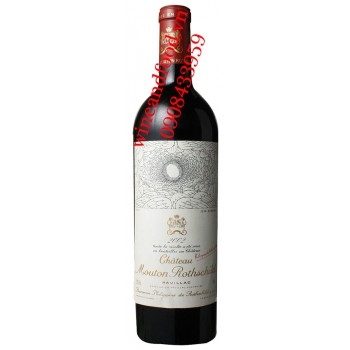 Rượu vang chateau Mouton Rothschild Premier Cru Classe 2002