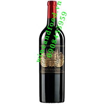 Rượu vang chateau Palmer Grand Cru Classe 2001