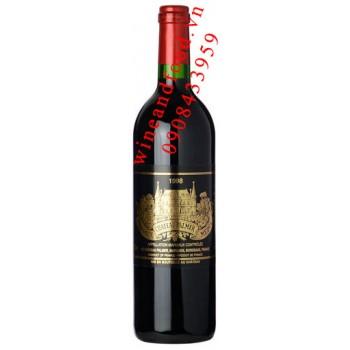 Rượu vang chateau Palmer Margaux Grand Cru Classe 1998
