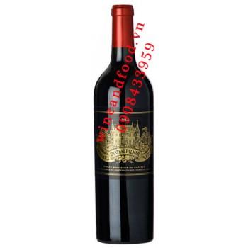 Rượu vang chateau Palmer Margaux Grand Cru Classe 2012