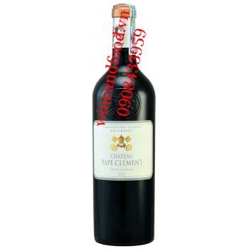 Rượu vang chateau Pape Clement 2012