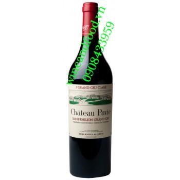 Rượu vang chateau Pavie Grand Cru Classe 2010