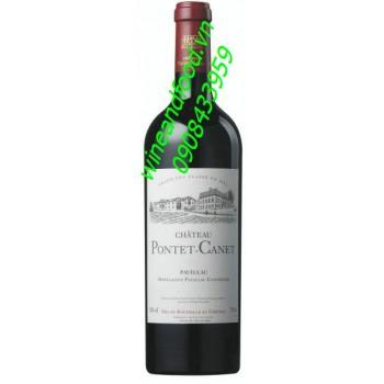 Rượu vang chateau Pontet Canet Grand Cru Classe 2007