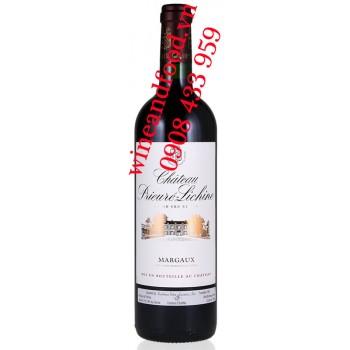 Rượu vang chateau Prieure Lichine 4ème Cru Classé 2010