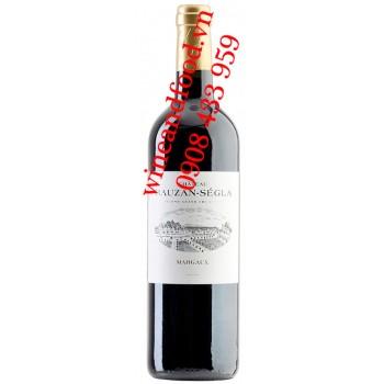 Rượu vang chateau Rauzan Segla 2ème Cru Classé 2010