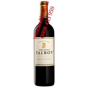 Rượu vang chateau Tabot 4ème Cru Classé 2010