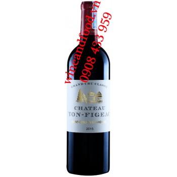 Rượu vang chateau Yon Figeac Grand Cru Classé 2015