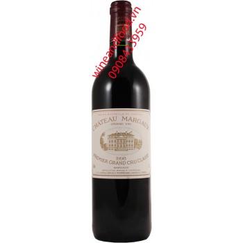 Rượu vang chateau Margaux Grand Cru Classe 1998