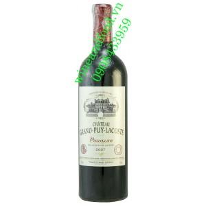 Rượu vang chateau Grand Puy Lacoste 5ème Cru Classé 2009