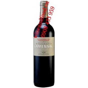 Rượu vang La Closerie De Camensac Haut Medoc 2016