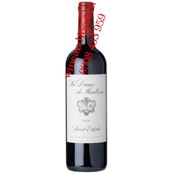 Rượu vang La Dame De Montrose 2ème vin 2010
