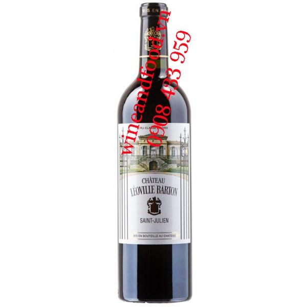 Rượu vang Leoville Barton 2ème Cru Classé 2005