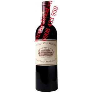 Rượu vang Pavillon Rouge du chateau Margaux 2ème vin 1995