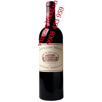 Rượu vang Pavillon Rouge du chateau Margaux 2ème vin 2005 1L5