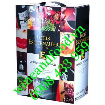 Rượu vang bịch Louis Eschenauer Cabernet Sauvignan 3l