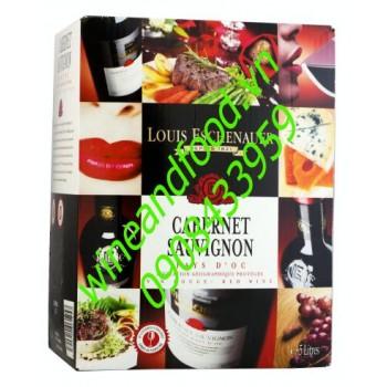 Rượu vang bình Louis Eschenauer 5l