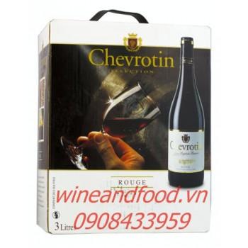 Rượu vang Chevrotin Rouge 3l