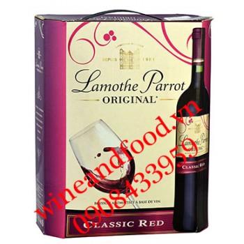 Rượu vang Lamothe Parrot Original 3l