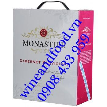 Rượu vang Monastier Cabernet Sauvignon bịch 3 Lít