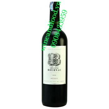 Rượu vang chateau Bournac Medoc 750ml